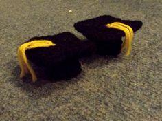 Kockássapka (Graduation cap) #crochet #graduation #graduationcap #university