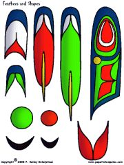 totem pole parts - create your own Native American Design, Native Design, Pole Art, Atelier D Art, Art Worksheets, Feather Painting, School Art Projects, Art Lessons Elementary, Indigenous Art
