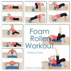 faszien This workout is a fabulous way to not only break a sweat, but to also give those sore and tired muscles what they need to repair themselves all in ONE SHOT! Pilates Training, Pilates Workout, Pilates Reformer, Sweat Workout, Workouts, Pilates Foam Roller, Foam Roller Stretches, Josef Pilates, Roller Workout