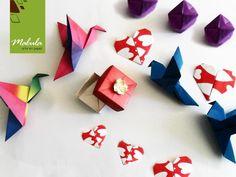Plegados para enseñar origami, tema: principiantes, Por malula _ arte en papel