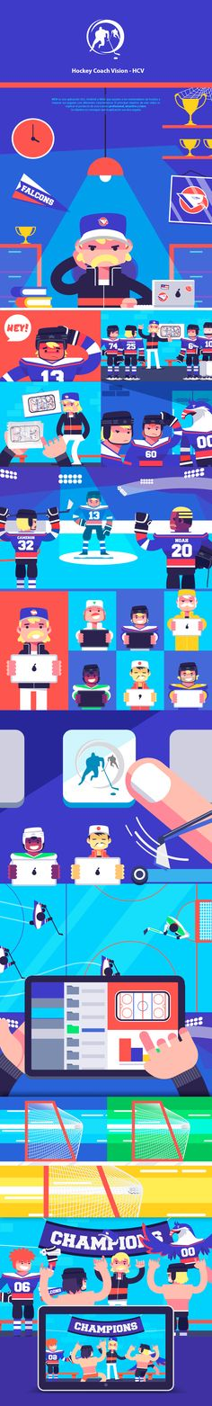 HCV- Hockey Coach Vision on Behance