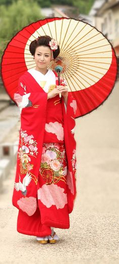 Kimono is a traditional outfit in the Chinese and Asian culture.