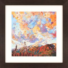 Over the Crest Framed Painting Print