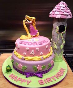 Xenias Cake Designs : Rapunzel cake Birthday Cakes and Party Ideas Pinterest ...