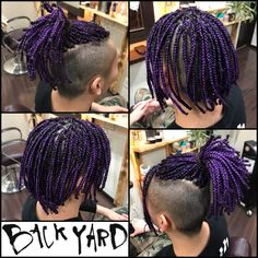 Dreadlock Hairstyles For Men, Haircuts For Curly Hair, Haircuts For Men, Braided Hairstyles, Curly Hair Styles, Boys Colored Hair, Braid Styles For Men, Braids With Shaved Sides, Dread Braids