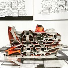 Sci arc thesis project by sungmi hyun advisor: john enright Parametric Architecture, Architecture Panel, Architecture Graphics, Organic Architecture, Futuristic Architecture, Parametric Design, Architecture Details, Architecture Models, Sci Arc