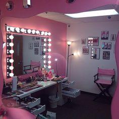 Vanity Makeup Room