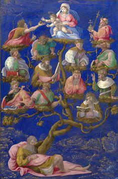A Jesse-tree Painting by Girolamo Genga