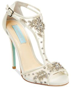 Blue by Betsey Johnson Holly Evening Sandals - Evening & Bridal - Shoes - Macy's