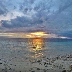 Sunrise at Treasure Island Fiji