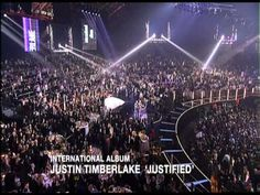 Justin Timberlake wins International Album presented by Gwen Stefani & T...