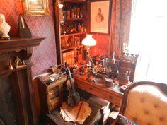 Sherlock Holmes museum....