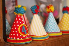 So kinda at the last minute I decided Finley needed to have a birthday party. I guess I started thinking about it and this was really going. Carnival Party Games, Carnival Crafts, Carnival Themes, Circus Theme, Birthday Party Themes, 2nd Birthday, Vintage Circus Party, Unusual Gifts, Baby Party