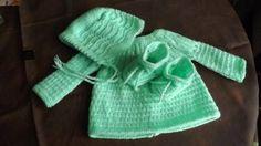 ensemble naissance - vêtements bébé - MADdeLAINE - Fait Maison