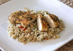 This chicken Dijon recipe is easy to make in the skillet with chicken breasts, a little basil and Dijon mustard. A flavorful chicken recipe.