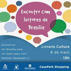 SEMPRE ROMÂNTICA!!: Encontro com Leitores de Brasília!