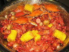 Crawfish and Blue Crab Boil Recipe