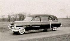 1953 Cadillac Landau Hearse by Superior
