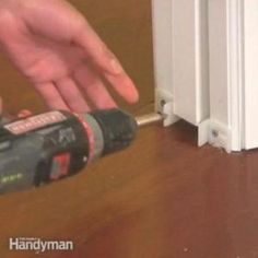 The Family Handyman expert, Rick Muscoplat, will show you how remove a pocket door and install a new one. Deep Cleaning Tips, Cleaning Hacks, Prehung Doors, Homemade Toilet Cleaner, Glass Cooktop, Clean Dishwasher, Door Makeover, Toilet Cleaning, Pocket Doors
