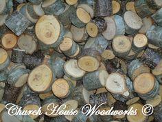 Tree Slice Confetti, Wood Slice Confetti, Rustic Wedding Confetti, Rustic Wedding Wood Slices, Rustic Wedding Decorations