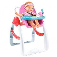 Little Mommy Oh So Sweet 3-in-1 High Chair