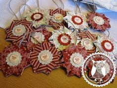 Tea Bag Folded Ornament