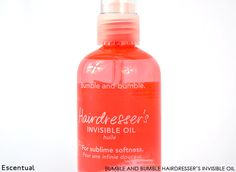 Bumble and bumble Hairdresser's Invisible Oil - My greatest hair revelation (hairvelation?) from 2013 was the Hairdresser's Invisible Oil from the iconic Bumble and bumble, a brand that launched with us just a few months ago.
