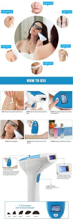 Top 10 Best IPL Hair Laser Removing System for women