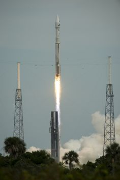 NASA's Mars Atmosphere and Volatile EvolutioN (MAVEN) spacecraft launches aboard a United Launch Alliance Atlas V from the Cape Canaveral Ai...