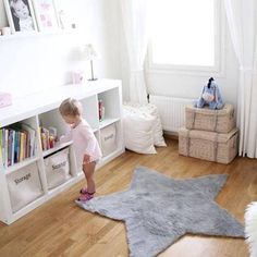 decoracion-bebes-habitacion-bebe-estrellas12 Baby Room Design, Baby Room Decor, Ikea Kids Room, Princess Room, Little Girl Rooms, Kids Furniture, Kids And Parenting, Girls Bedroom, Bb