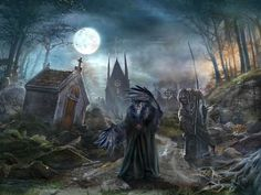 REDEMPTION CEMETERY fantasy adventure puzzle exploration dark perfect magic rpg online mystery horror supernatural ghost