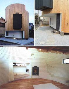 Home in the Round: Curved & Corner-Free Cylinder House http://dornob.com/home-in-the-round-curved-corner-free-cylinder-house/?ref=search