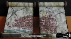 infografía papiro de la ciudad de merida