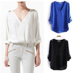 Blusas e camisas on AliExpress.com from $12.98