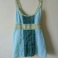 SALE Free People summer tank top Adorable bright summer tank Free People Tops Tank Tops