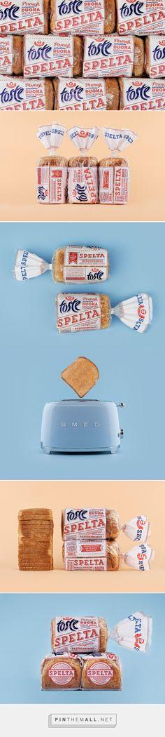 SPELTA Bread packaging design by Étiquette - http://www.packagingoftheworld.com/2016/10/spelta-bread.html