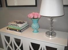 I want this console table