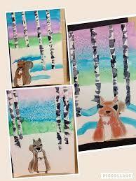 Image result for 1st grade winter art