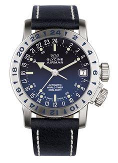 Airman 17 with blue dégradé dial