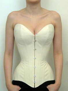 corset making Basic push-up corset shape by Barbara Pesendorfer of Royal Black Couture Corsetry for Foundations Revealed Corset Vintage, Corset Pattern, Pattern Sewing, Lace Tights, Mode Vintage, Historical Clothing, Costume Design, Clothing Patterns, Dressmaking