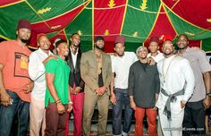 Miami Heat Players Celebrating the 29th  Birthday of Chris Bosh, Moroccan Theme Style  Authentic Moroccan Tent