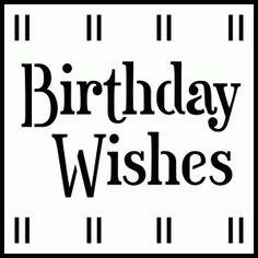 birthday wishes square