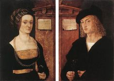Hans Burgkmair d. Ž. - Barbara and Hans Schellenberger, 1505