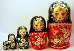 The magic nesting doll a Russian folk tale
