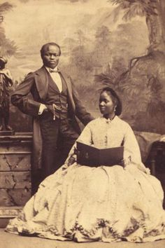 Queen Victoria's Black Princess At the age of five, Sarah Forbes Bonetta Davies, born into a royal Yoruba dynasty, was taken to England and presented to Queen Victoria as a Black History Facts, Black History Month, Strange History, African American History, British History, African American Fashion, Vintage Photographs, Vintage Photos, African Princess
