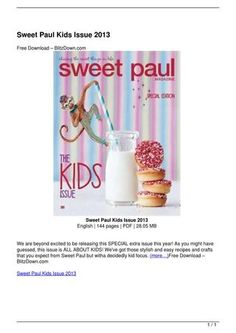 Sweet Paul Kids Issue 2013