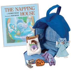 Great story for retelling #The Napping House