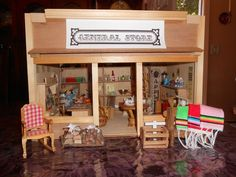 """Limited Time Ony"" Great Christmas Gift Doll House Miniature General Store"