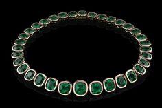 The Angelina Jolie Exceptional Emerald Necklace Angelina Jolie Style of Jolie jewelry Robert Procop