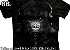b3d15e1595195 Camiseta - The Mountain - Gorilla DJ Caesar. Arte en camisetas